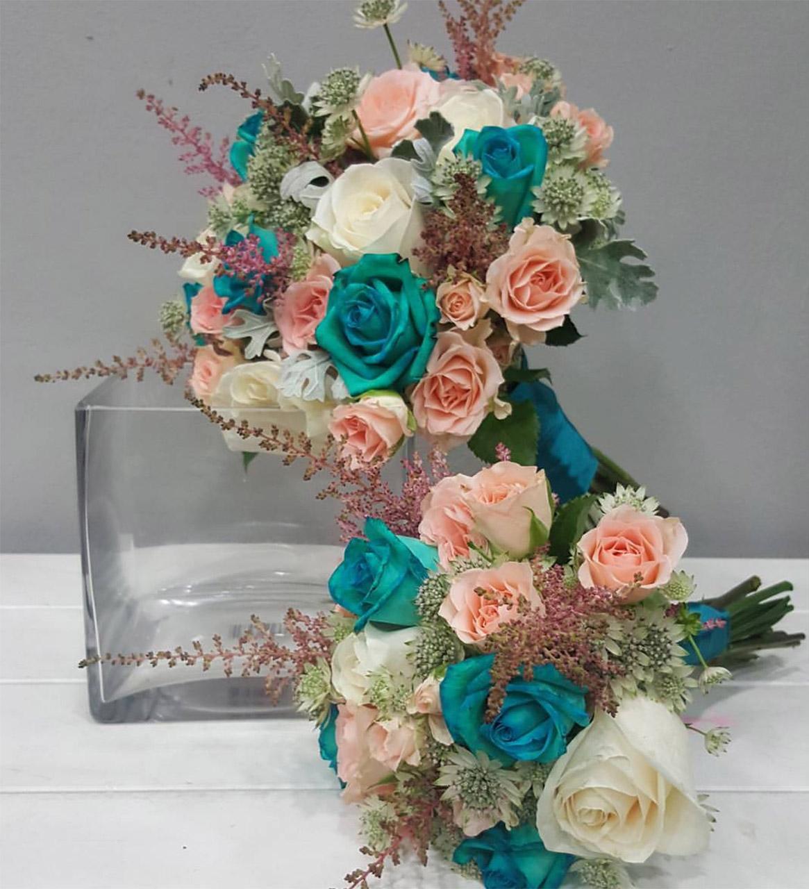 Ramos de Novia · Decoración Floral de Bodas · Floristería Los Santos Niños · Alcalá de Henares · Madrid